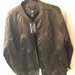 H&M x The Weeknd  - Green Bomber Jacket - Sz XL